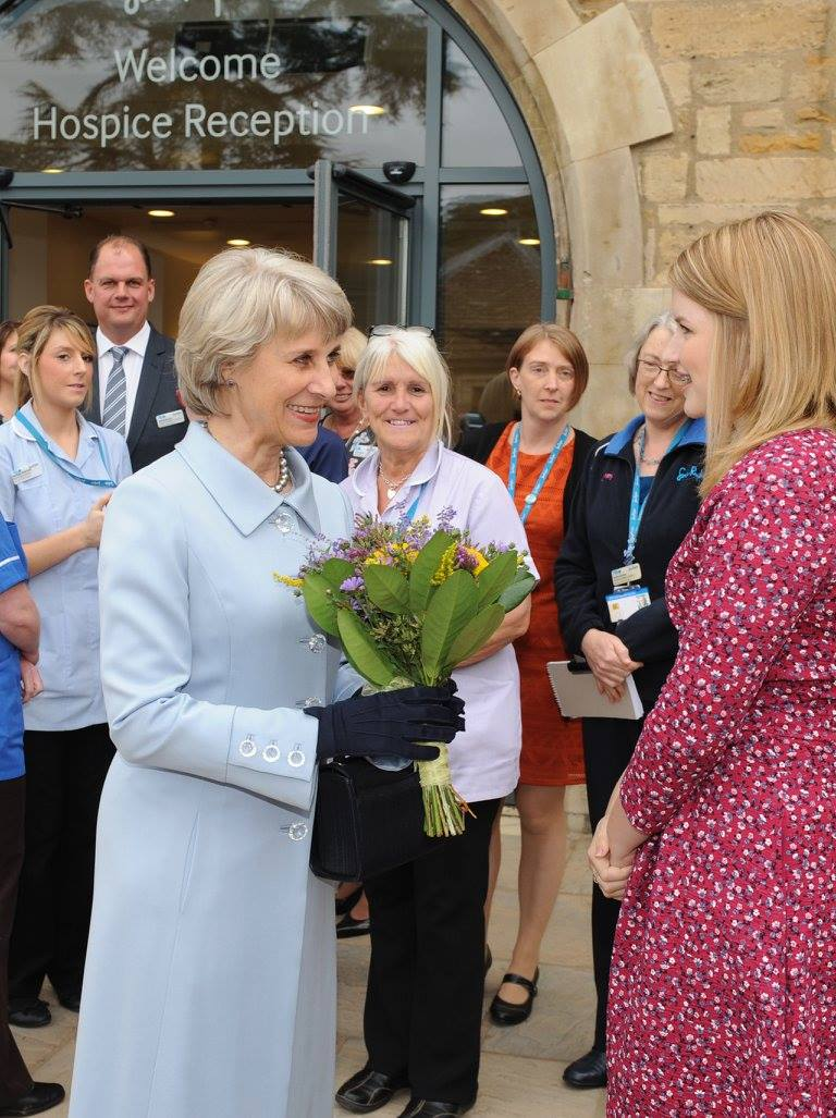official opening of thorpe hall hospice
