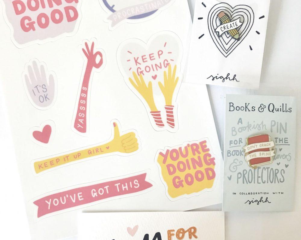 sighh designs stickers