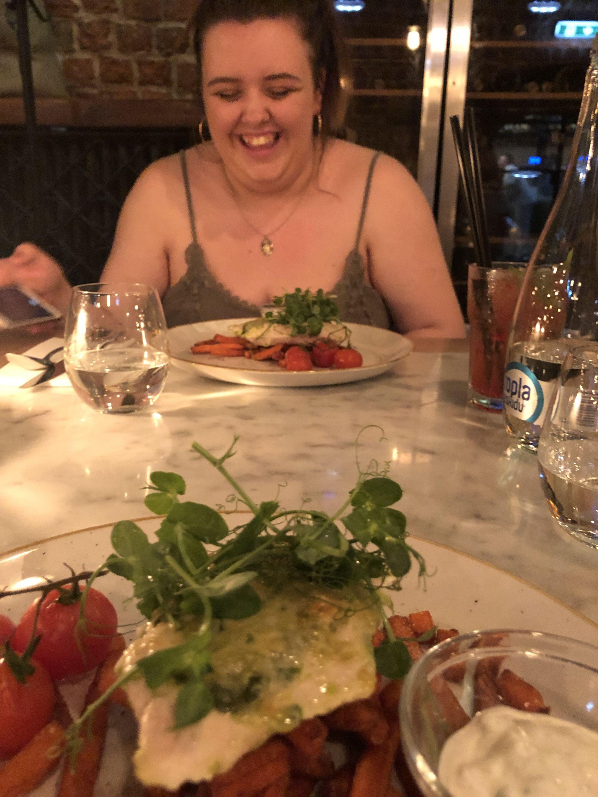 dinner in european city