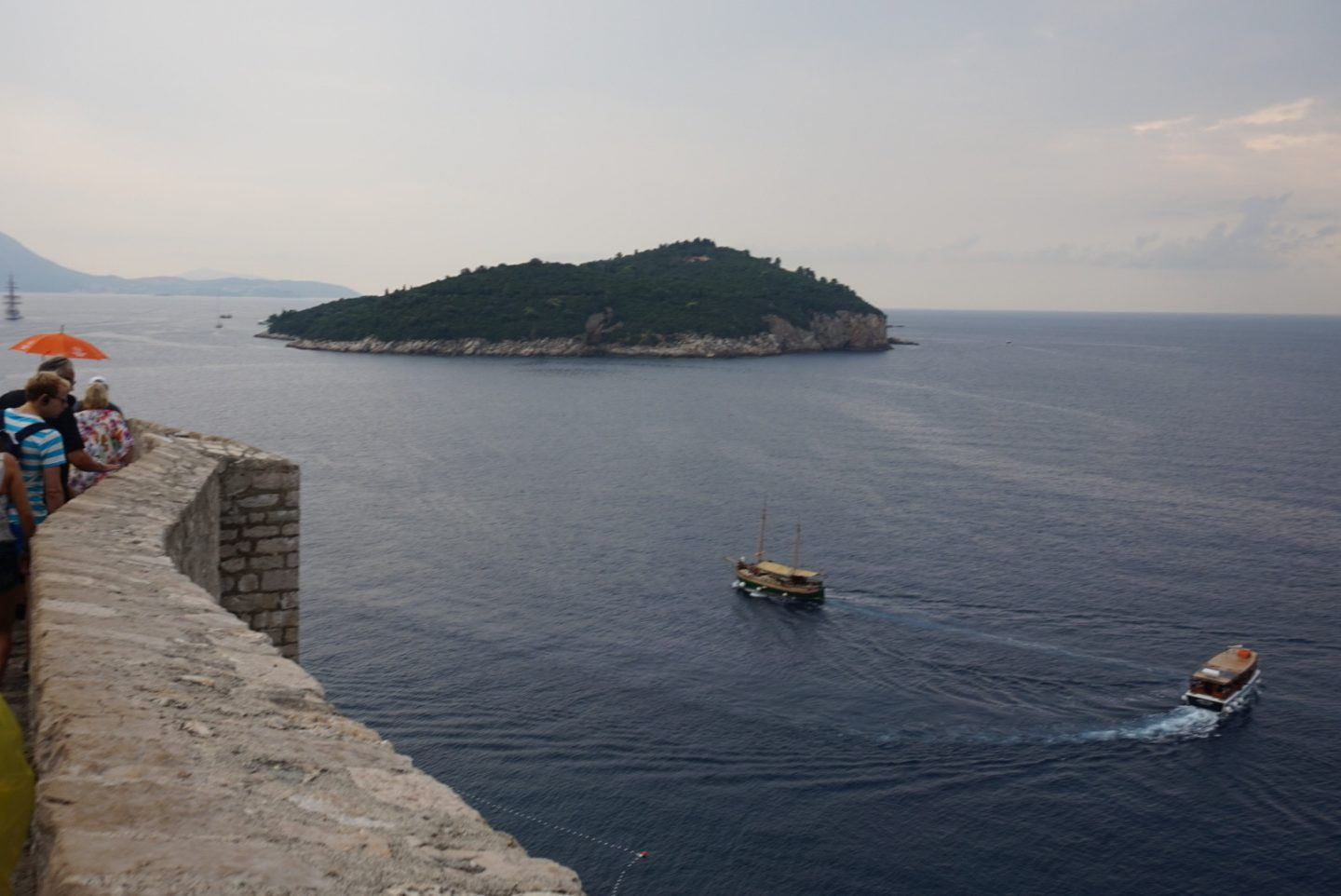 views from dubrovnik walls