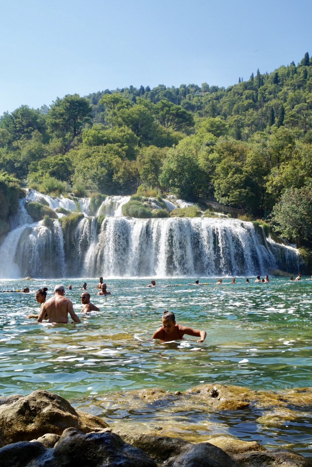 split waterfalls croatia