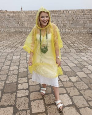 emergency poncho on holiday