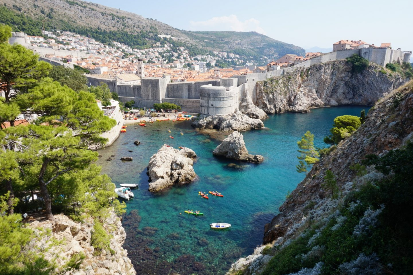 city of dubrovnik views