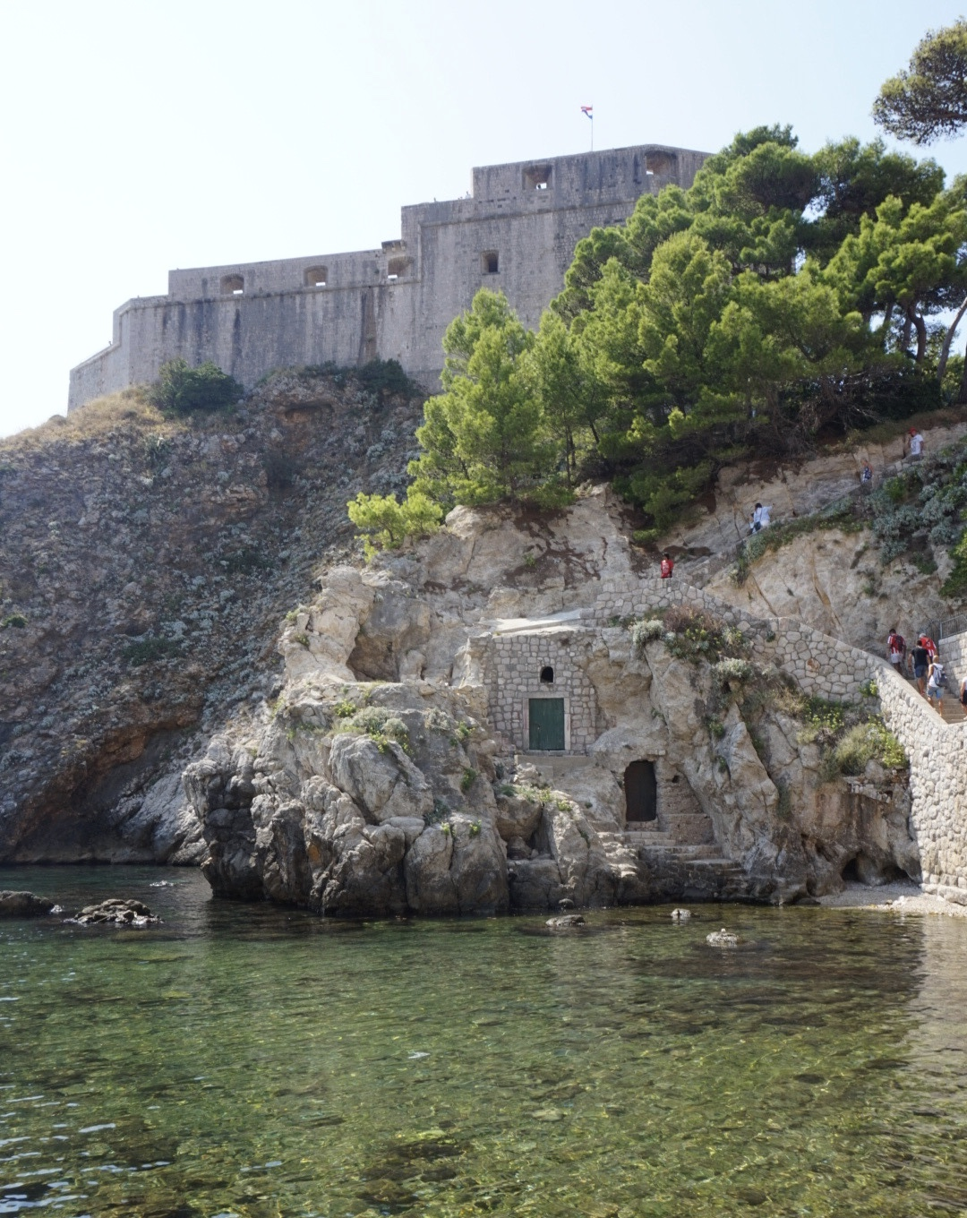 fort in dubrovnik
