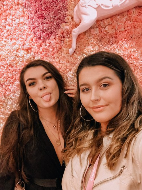 Charlotte and carrie founders of consistency business instagram
